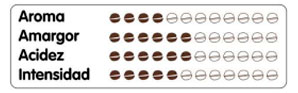 cafe en grano descafeinado atributos