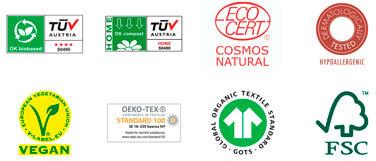 certificaciones de eco by Naty