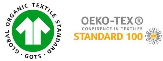 certificaciones toalla de algodón orgánico