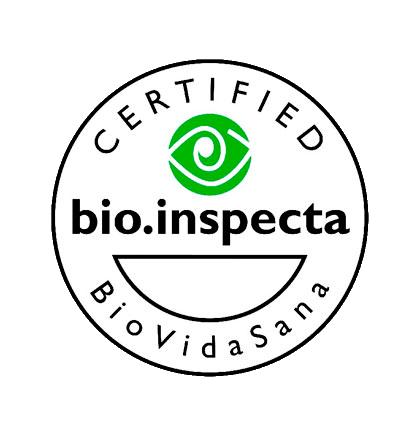 Certificado bio inspecta/BioVidaSana