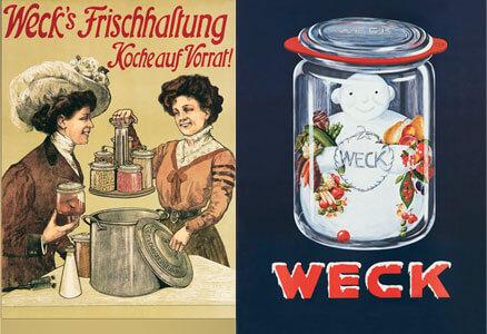 publicidad de Weck