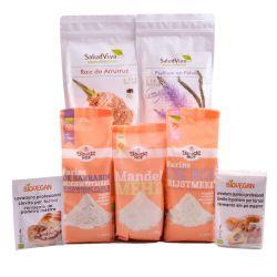 Pack ecológico para hacer panes y masas sin gluten