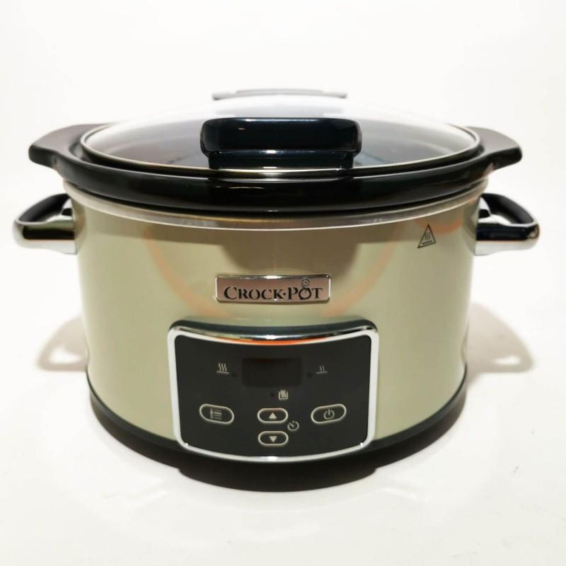 Crock Pot 3,5 l con temporizador y tapa abatible - Outlet