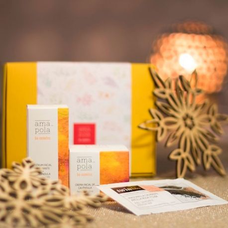 "Caja regalo ""Pack Calmante"" - Amapola Biocosmetics"