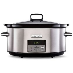 Crock Pot 7,5 litros, con temporizador