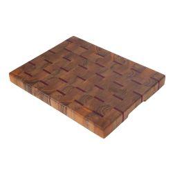 Tabla de cocina de madera maciza de nogal y nazareno