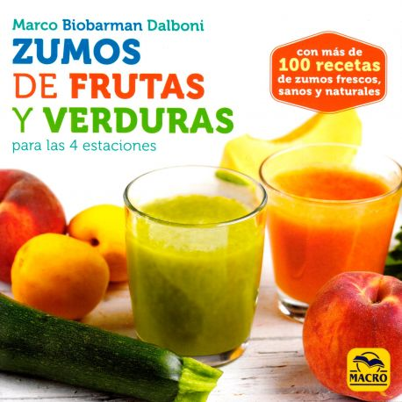 """Libro """"Zumos de frutas y verduras"""" - Marco Dalboni"""