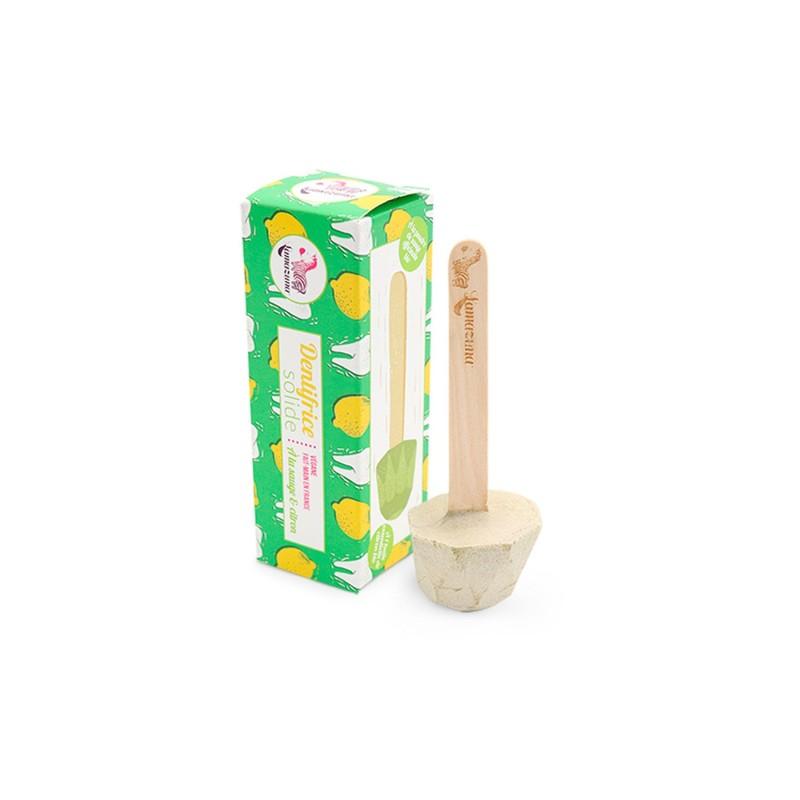 Pasta de dientes sólida - Limón