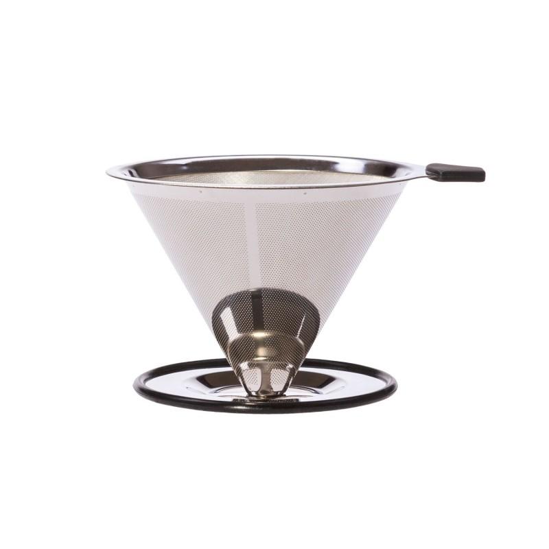 Filtro de café de acero inoxidable Pour Over