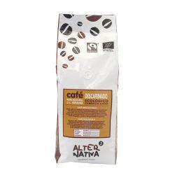 Café en grano ecológico descafeinado - 500 g