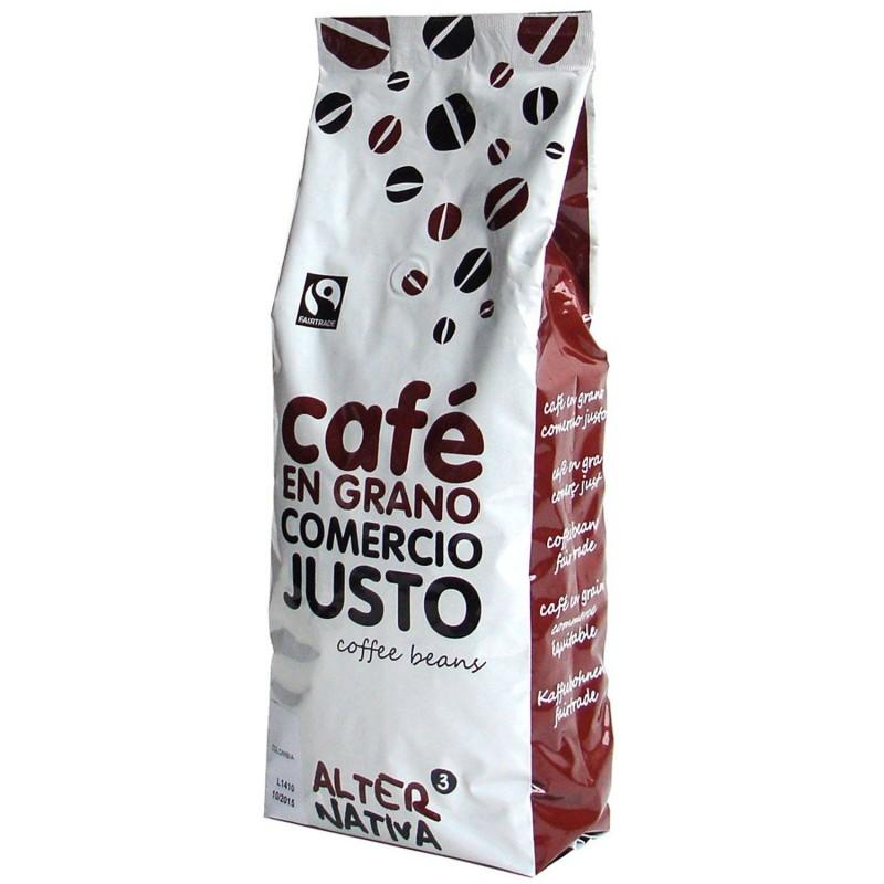 Café en grano ecológico Bioarábica - 1 kg