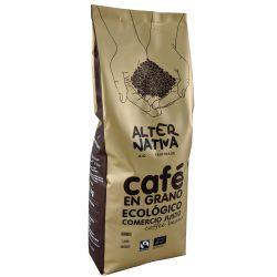 Café en grano ecológico descafeinado - 1 kg