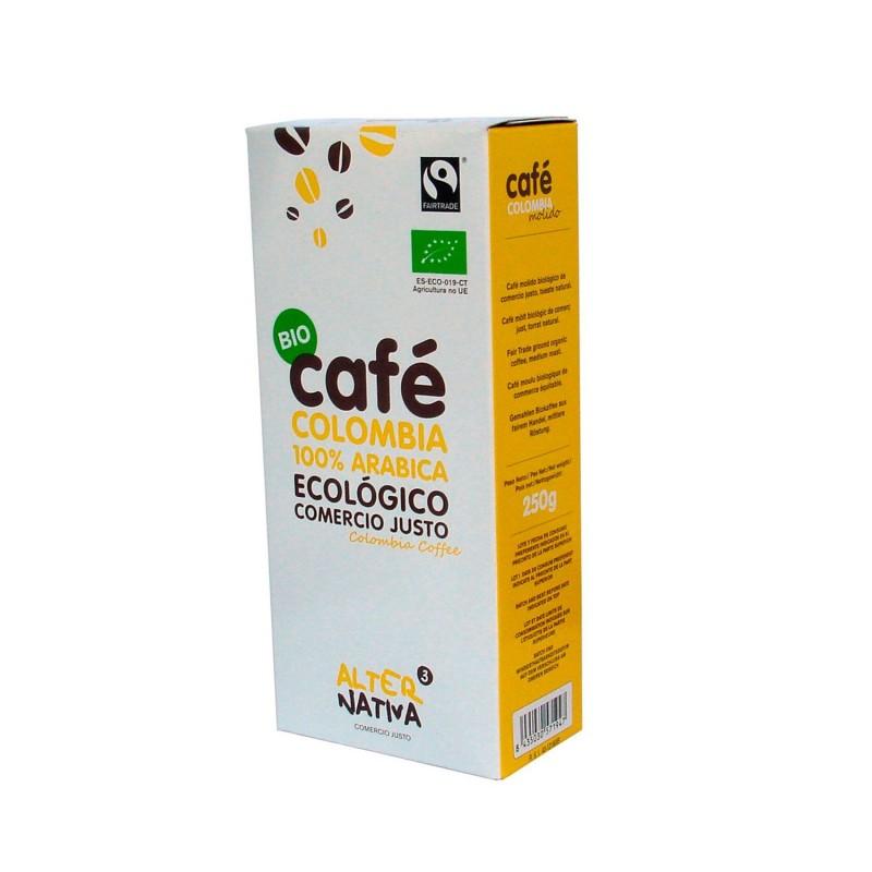 Café molido ecológico Colombia - 250 g