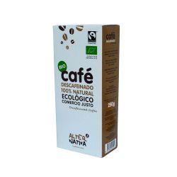 Café molido ecológico descafeinado - 250 g