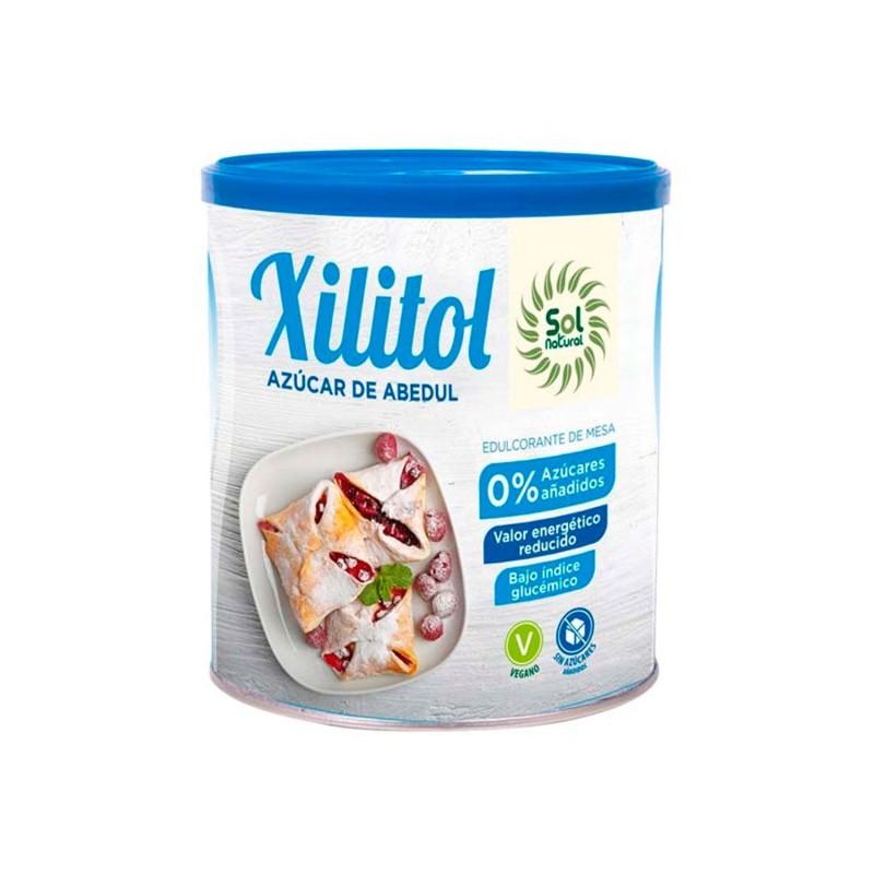 Xilitol, azúcar de Abedul 500 g - Sol Natural