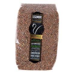 Lentejas Pardinas ecológicas, 1 kg - Riet Vell