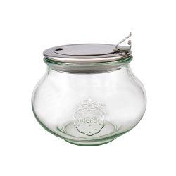 Tarro de vidrio Deco con tapa abatible Weck - 1,06 l