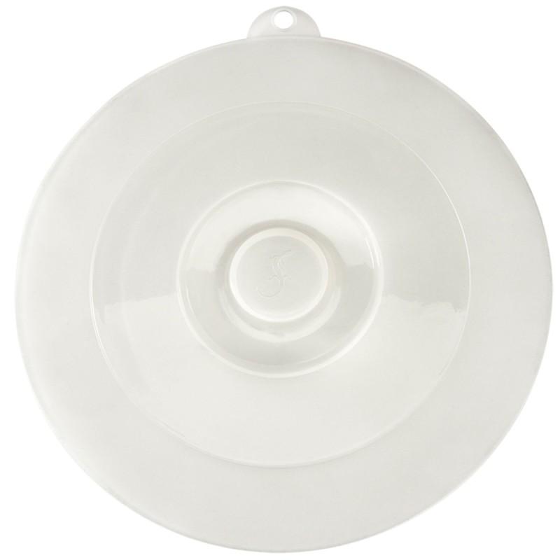 Tapa semirrígida redonda de silicona Lurch - 27,5 cm