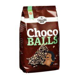 Bolitas crujientes de cereales y chocolate, ecológicas - Bauckhof