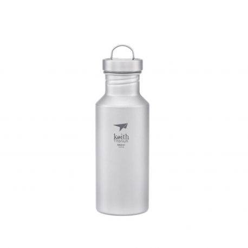 Botella de titanio sport 550 ml - Keith