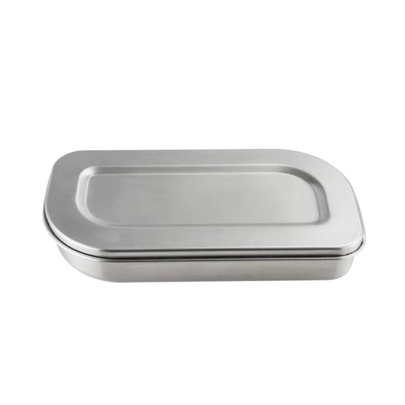 Contenedor ovalado de acero inoxidable Lurch - 600 ml