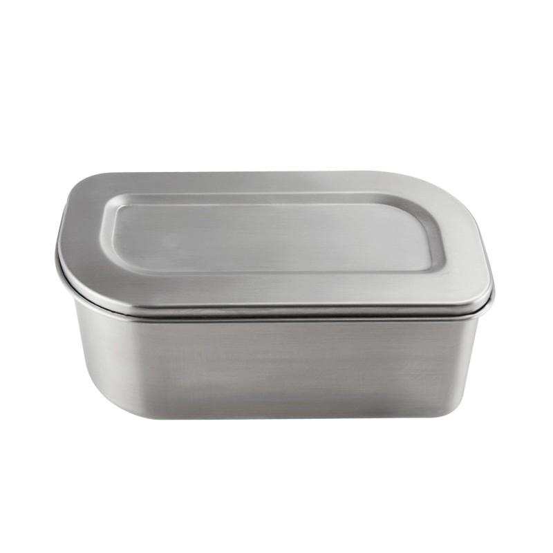 Contenedor ovalado de acero inoxidable Lurch - 1200 ml