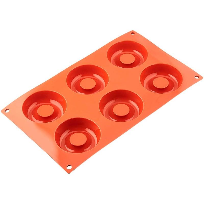 Molde para donuts de silicona -Silikomart