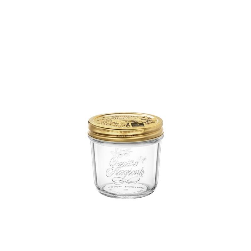 Tarros de cristal de boca ancha - Quattro Stagioni