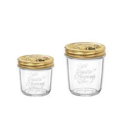 Tarro de cristal de boca ancha - Quattro Stagioni