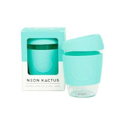 Taza de cristal para llevar Menta - 340 ml