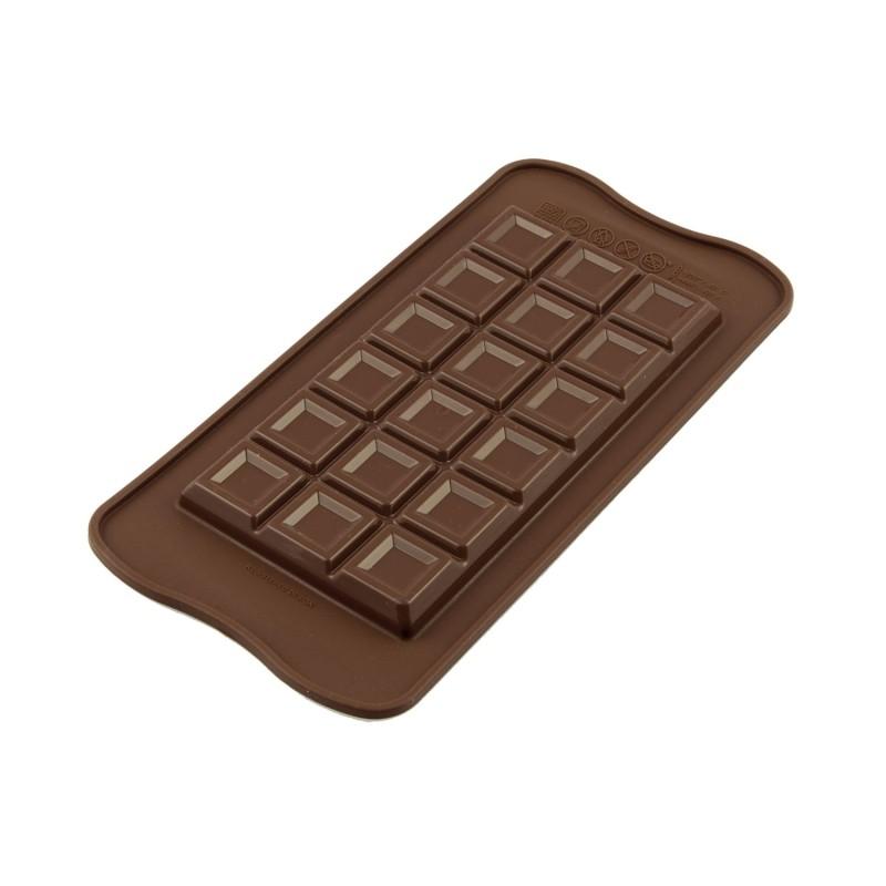 Molde para tableta de chocolate de silicona - Silikomart