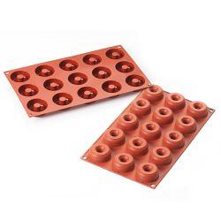 Molde para mini donuts de silicona - Silikomart