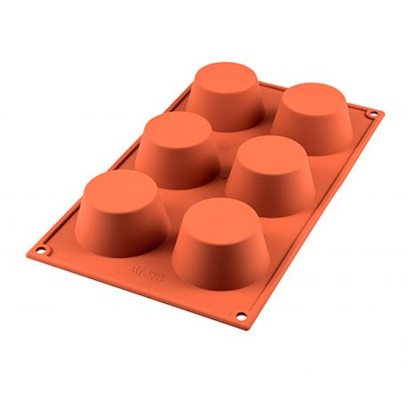 Molde para muffins de silicona - Silikomart