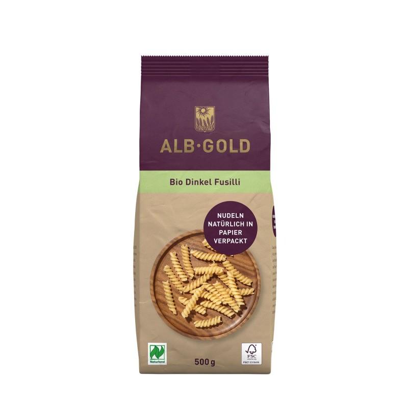 Fusili de espelta ecológico, 500 g - Alb Gold