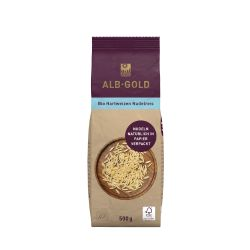 Risoni ecológico, 500 g - Alb Gold