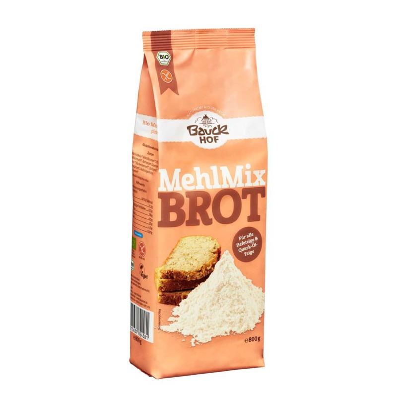 Mezcla harinas sin gluten para pan ecológica - Bauckhof