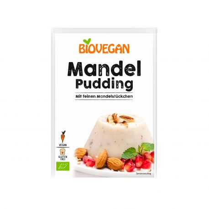 Preparado para pudin de almendras ecológico- Biovegan