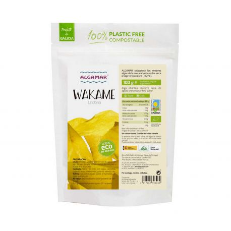Alga wakame ecológica
