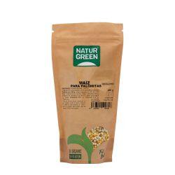 Maíz para palomitas ecológico, 400 g - Naturgreen