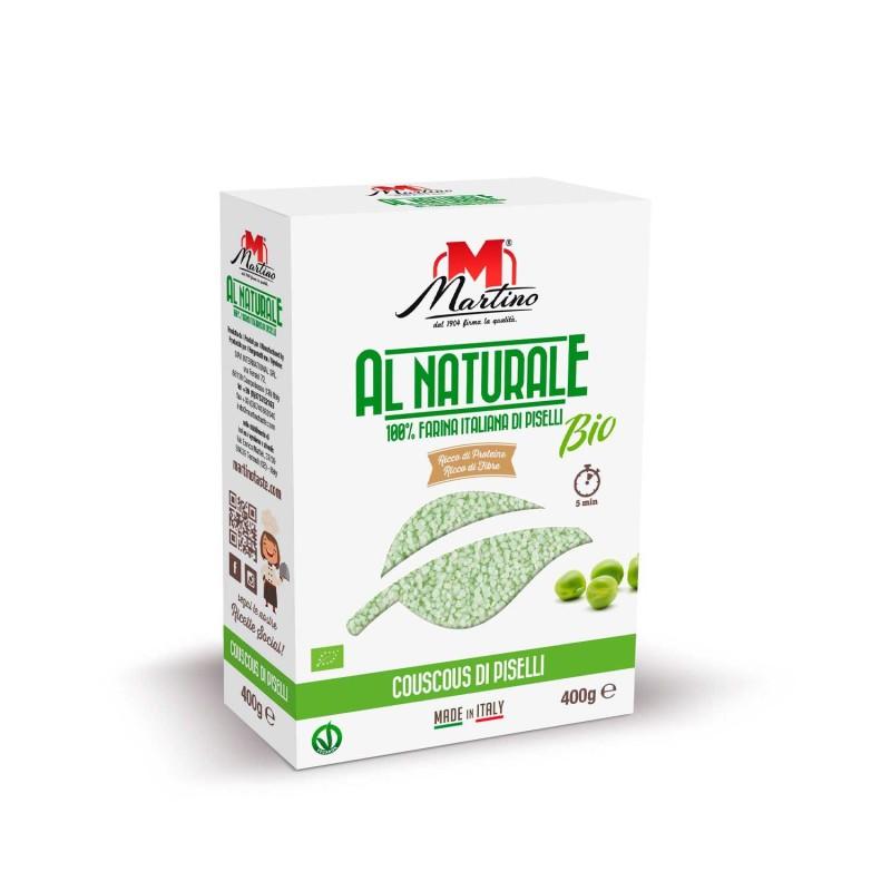 Cuscús de guisantes ecológico, 400 g - Martino