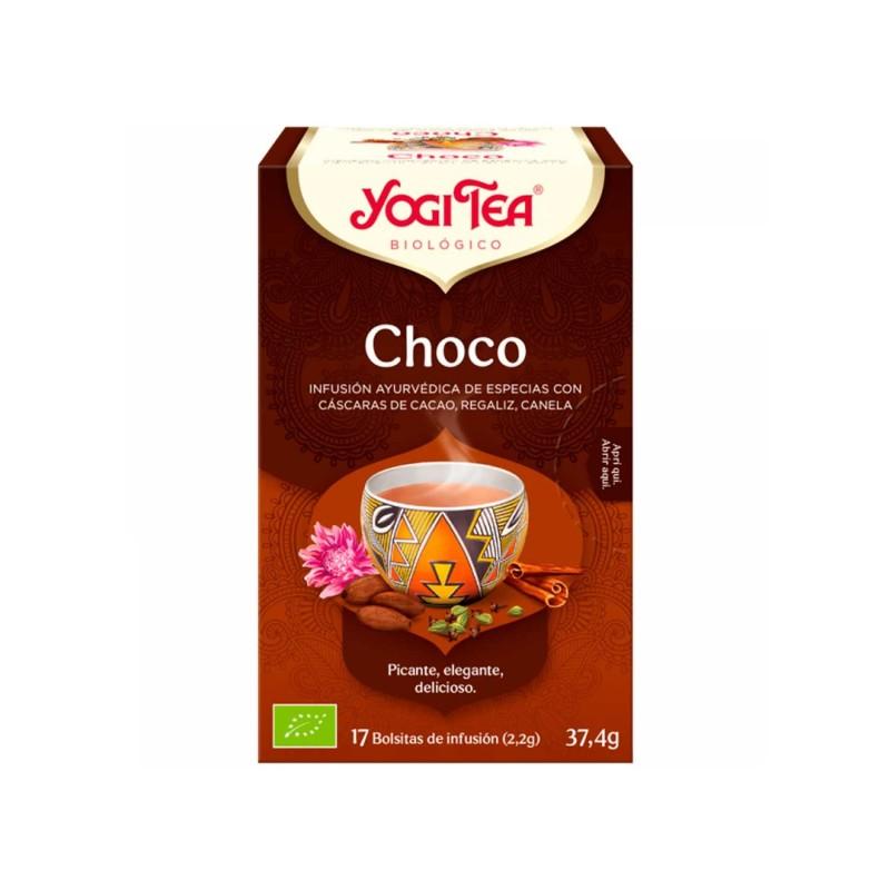 Infusión ecológica chocolate - Yogi tea