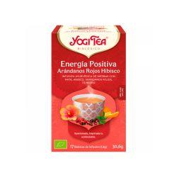 """Infusión ecológica """"Energía positiva"""" de hibisco y arándanos - Yogi tea"""