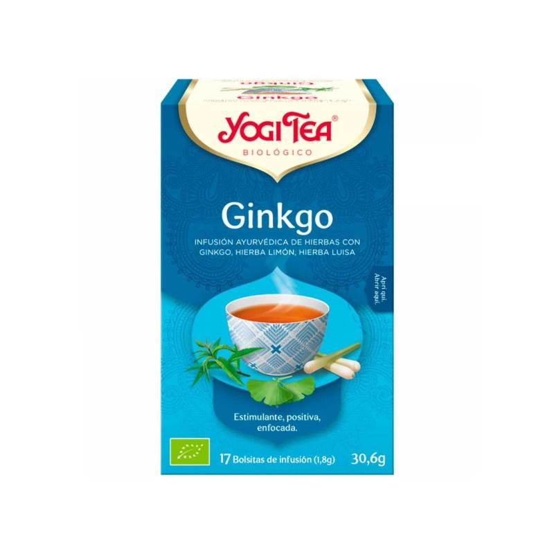 Infusión ecológica Gingko - Yogi Tea