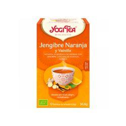 Infusión ecológica de jengibre, naranja y vainilla - Yogi tea