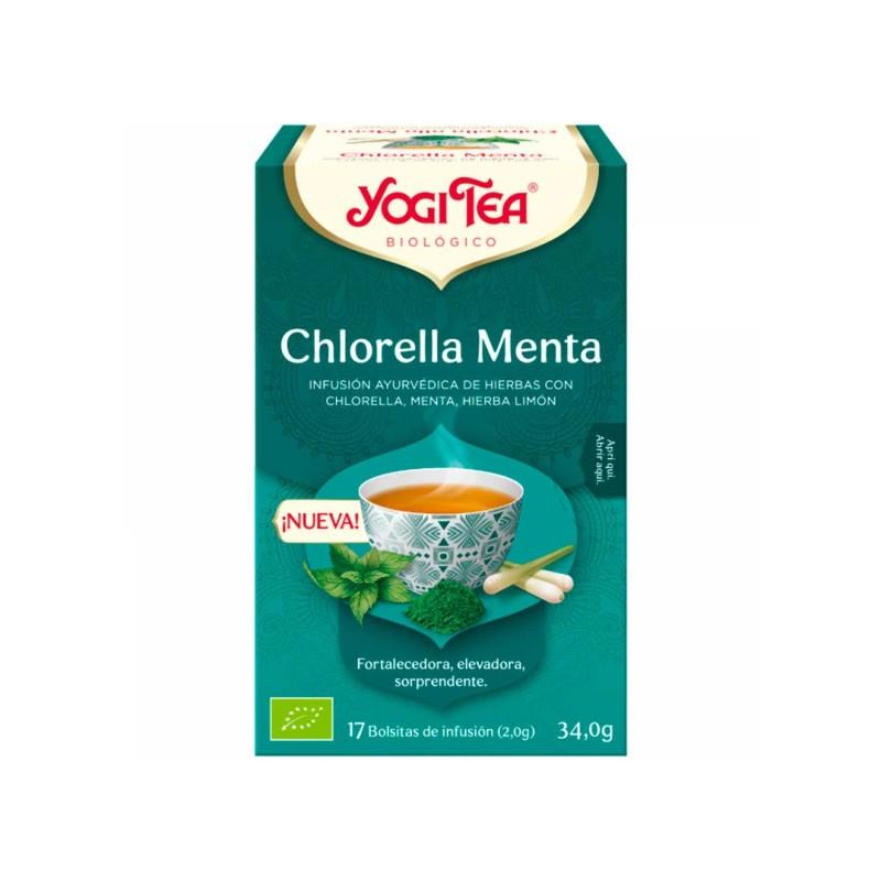 """Infusión ecológica """"Chlorella Menta"""" - Yogi Tea"""