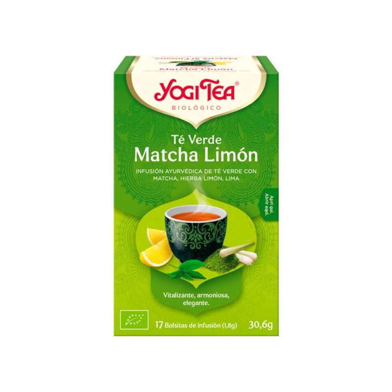 Té verde Matcha Limón ecológico - Yogi Tea