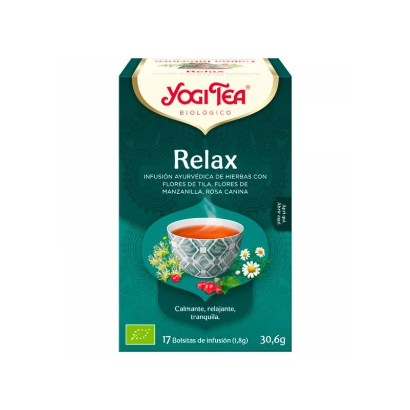 """Infusión ecológica """" Relax"""" - Yogi tea"""