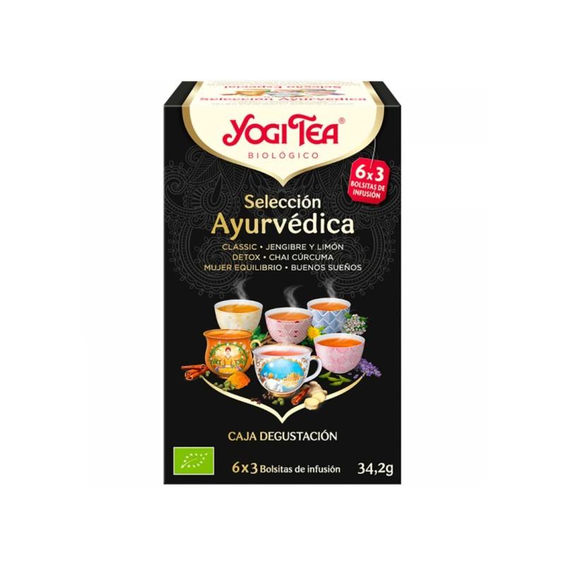 Selección ayurvédica de infusiones ecológicas - Yogi Tea