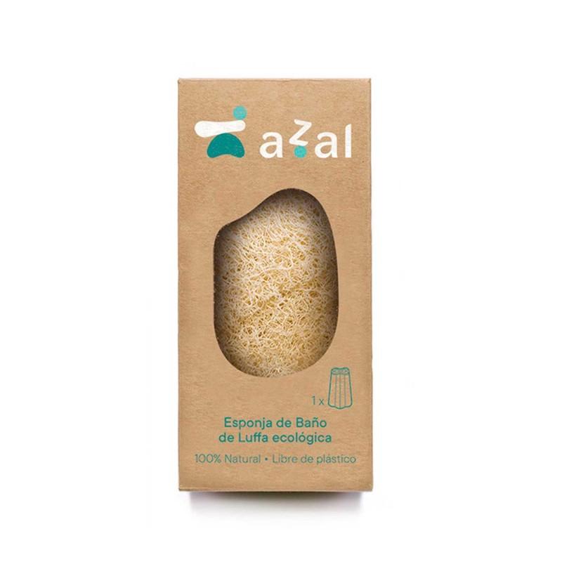Esponja exfoliante corporal de luffa - Azal