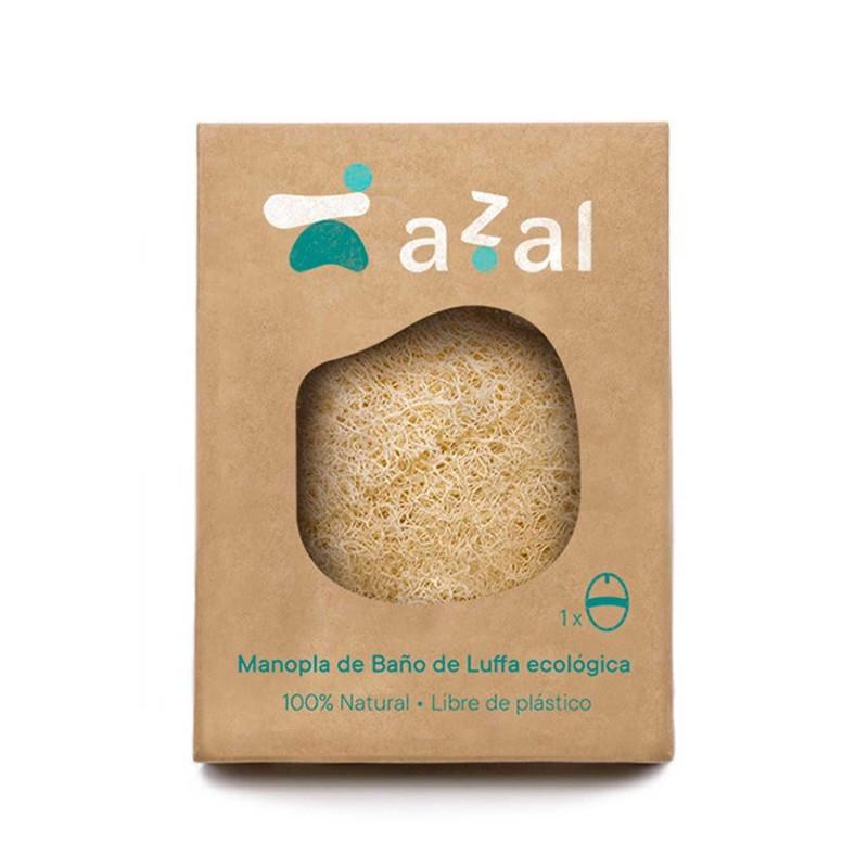 Manopla exfoliante corporal de luffa ecológica - Azal